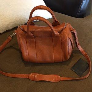 Alexander wang small bag with gold hardware